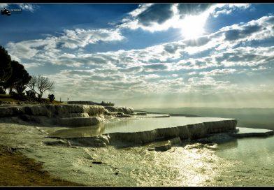 Denizli Pamukkale Travertenleri Fotoğrafları