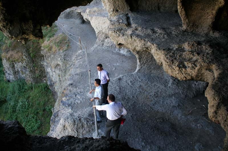 İnönü Mağarasının İçinden Görüntüler