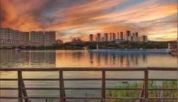 Göksu Parkı Gün Batımı Fotoğrafları
